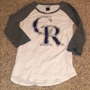 Colorado Rockies 🖤💜 baseball shirt